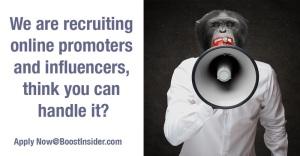 Join BoostInsider, make money with your social media