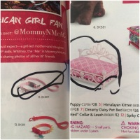 The American Girl catalog arrived and I handed my 3-year old a marker and said...